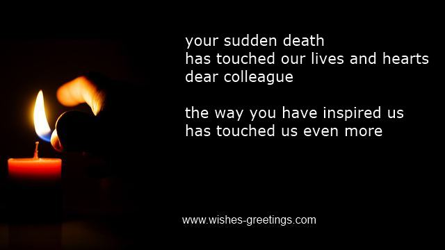 Inspirational Funeral Poems Colleague Business Condolence Employee Death