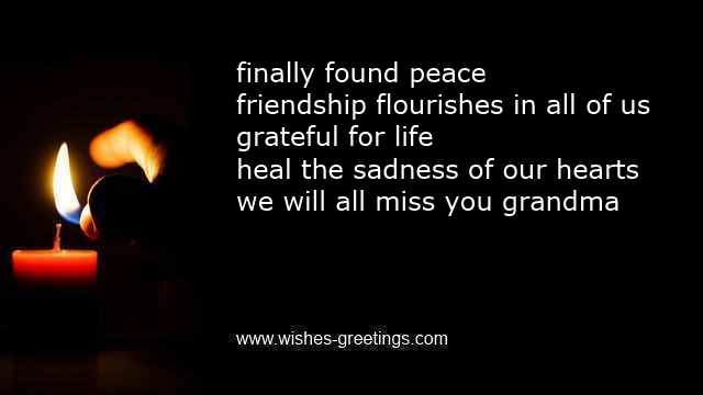 Quotes About Grandmothers | Grandma Condolence Messages For Death Grandmother