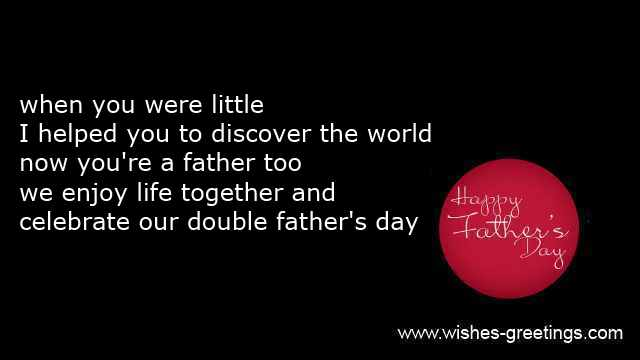 father love poems for son