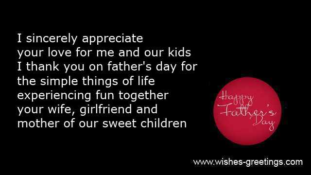 Fathers day poems wife and happy quotes for husband fathers day from wife ecards for husband from wife m4hsunfo