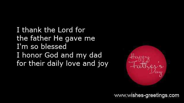 christian fathers day messages