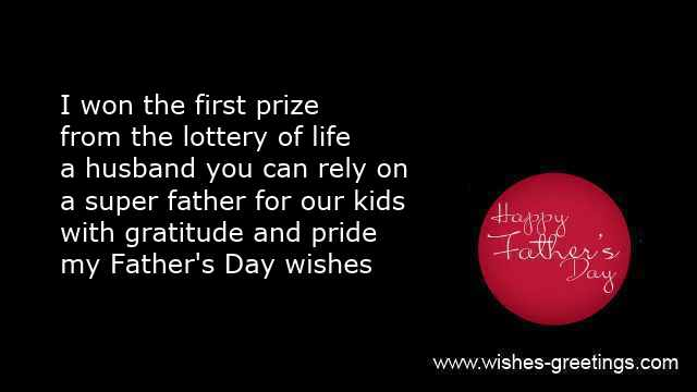 Fathers day poems wife and happy quotes for husband fathers day wife greetings wife to husband m4hsunfo