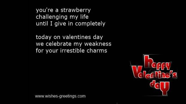 short silly valentine poems