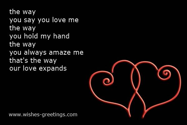 short valentines poems for him