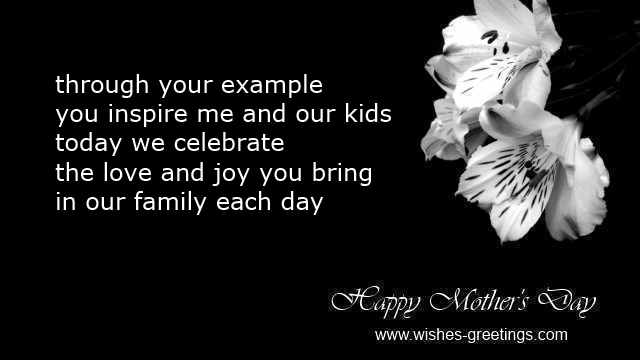 Mothers day poems husband to wife quotes message greeting cards – Birthday Card Sayings Husband