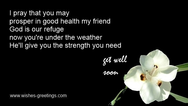 Religious get well wishes with christian verses from bible good health poem m4hsunfo