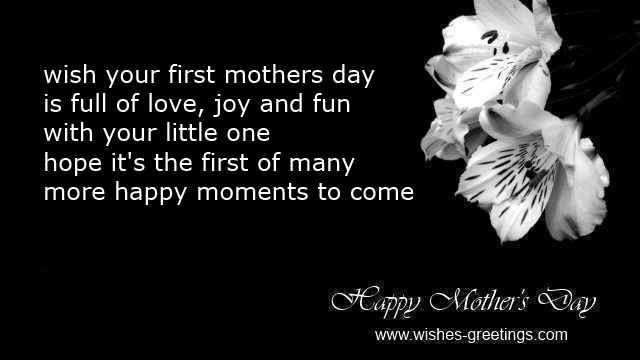 First Mother S Day Poems And Quotes 1st Time Mother Day Cards