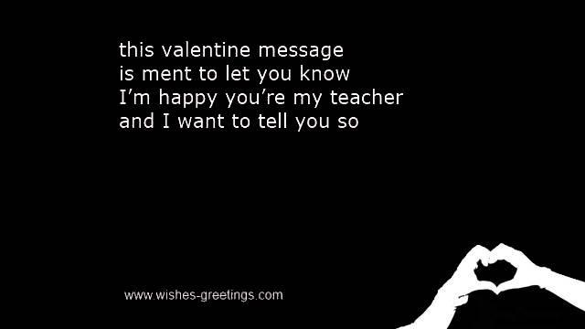 Kids Valentine Quotes Teachers ...