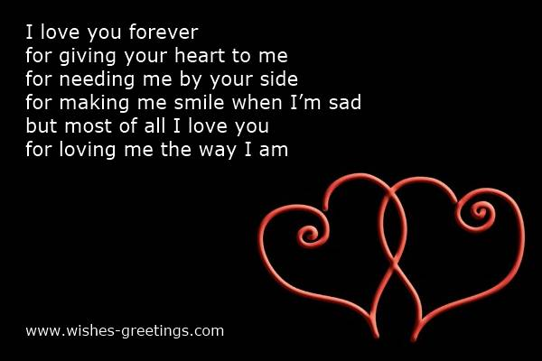Valentine Sayings For My Boyfriend Valentines poems for him your