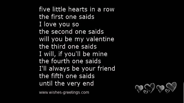 valentine poem for kids
